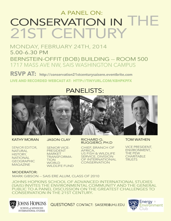Panel on Conservation in the 21st Century - Final