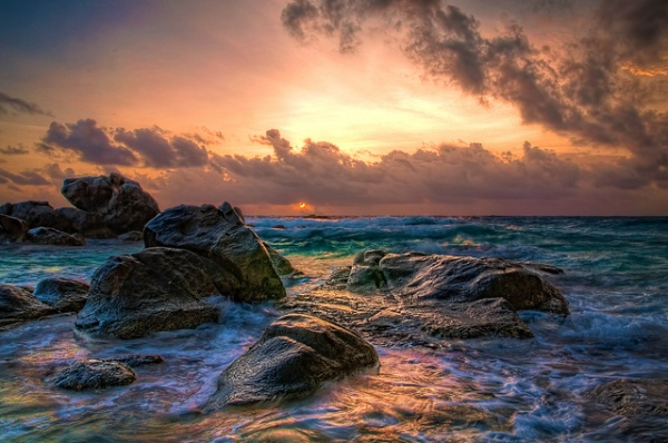 Aruba Sunrise by Rick Seidel